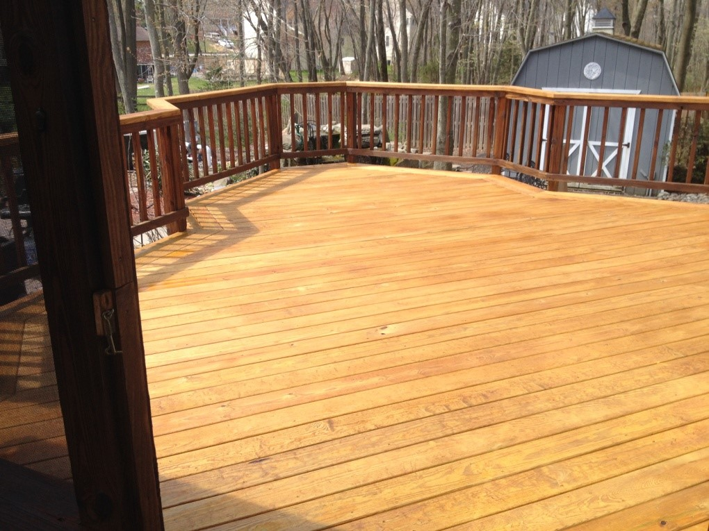 wood deck we recommend a top deck replacement in leu of deck