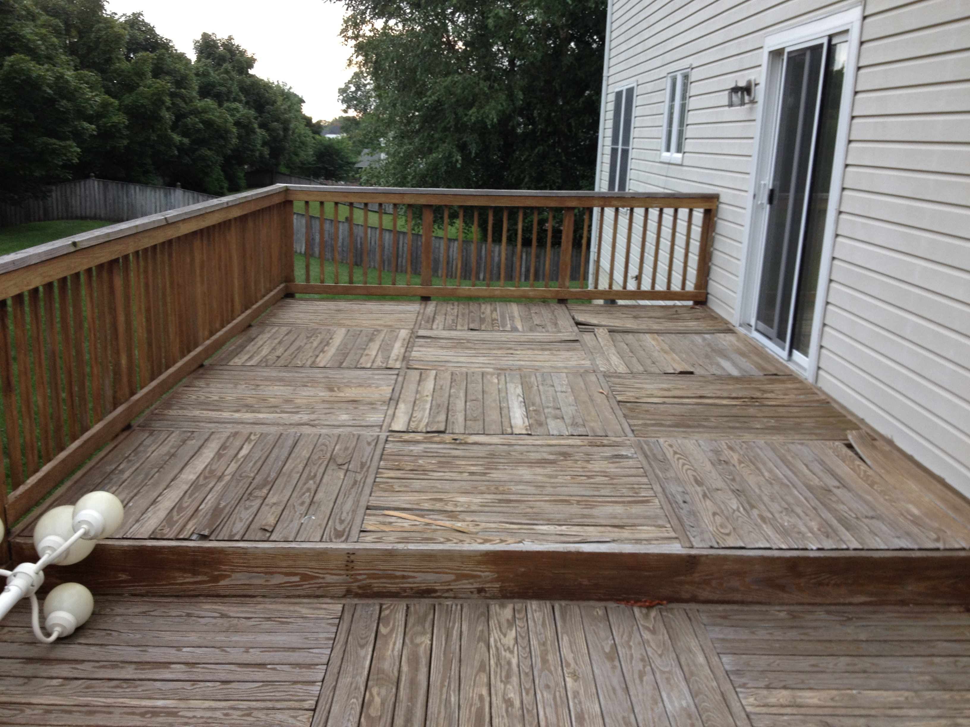 Once A Pressure Treated Pine Deck Reaches 15 Years Of Age It Starts To Show Is By Becoming Brittle Rough And Splintery